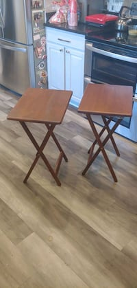 Wooden TV Tables (2)