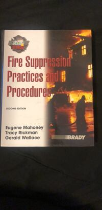 Fire Suppression Practices and Procedures 2nd Edition  Los Angeles, 90032