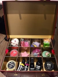 Box of LUSH products