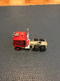 red and gray semi trailer truck toy Vaughan, L4H 3P6