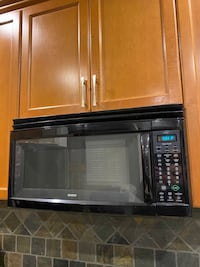 Appliances-Gas stove, near new microwave, over range microwave