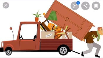 We pick up unwanted household items FREE of charge!!!