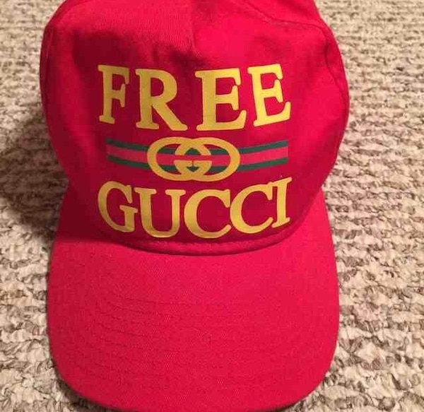 Used Free Gucci SnapBack hat for sale in Madison Heights - letgo ae6751cd931
