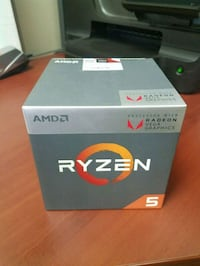 AMD RYZEN 5 2400G - New sealed in box Tampa, 33634