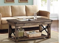 Brand new rustic coffee table  West Valley City, 84120