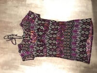 XL purple pattern blouse Winnipeg, R3G