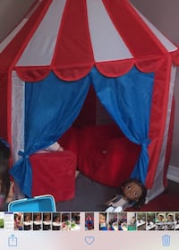 blue, red, and yellow tent Richmond Hill, L4S 1G9