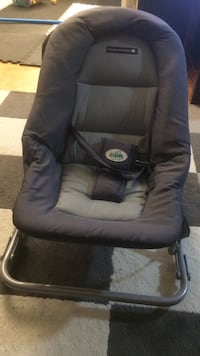 Black and gray bouncer