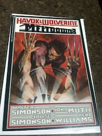 Havok Wolverine Meltdown Marvel comic book