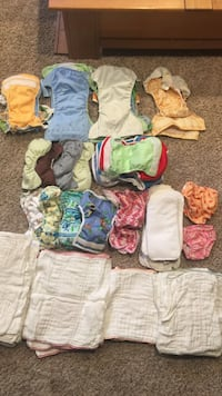 Baby's cloth diapers