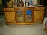 brown wooden cabinet with mirror Pune, 411060