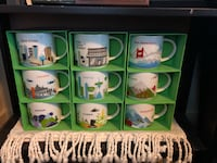 Starbucks mugs, ornaments Independence, 97351