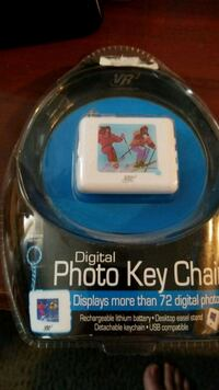 Digital photo key chain