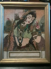 painting Indian women made gem stone painted  San Diego, 92110