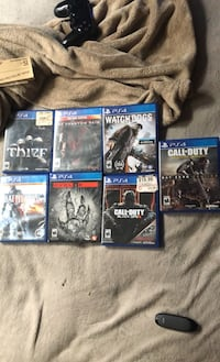 Ps4 games (15 a pop/ 7 a pop if u buy em all Newark, 19702