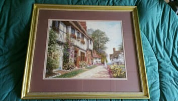 Framed picture/ painting