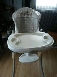 white and gray high chair Calgary, T3J 1J8