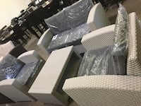 4 pieces outdoor patio set. Love seat, 2 chairs and table. Brand new.  Carrollton, 75006