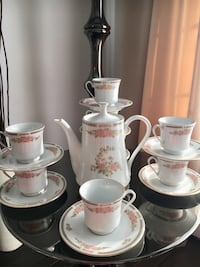 Fairfield fine china coffee/tea set Laval, H7T 3A7