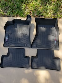Weather Tech Car Mats for Audi Q5/SQ5 2013 to 2017 model