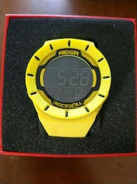 round yellow and black digital watch West Jordan, 84084
