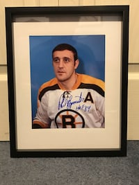 Phil Esposito signed and framed photo