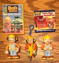 Bob the Builder toys & DVDS - $10 per group/picture
