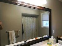 48x36 inch mirror ONLY bathroom or ? READ Easton, 18040