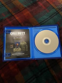 Call of duty ww2 ps4 game case