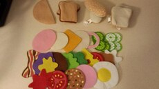 Melissa & Doug Felt Play Food for sale  Bloomingdale, IL