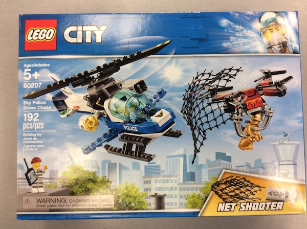 Used Lego City Sky Police Drone Chase Brand New Sealed For Sale