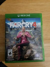 Xbox One Farcry 4  Barrie, L4N 8T5