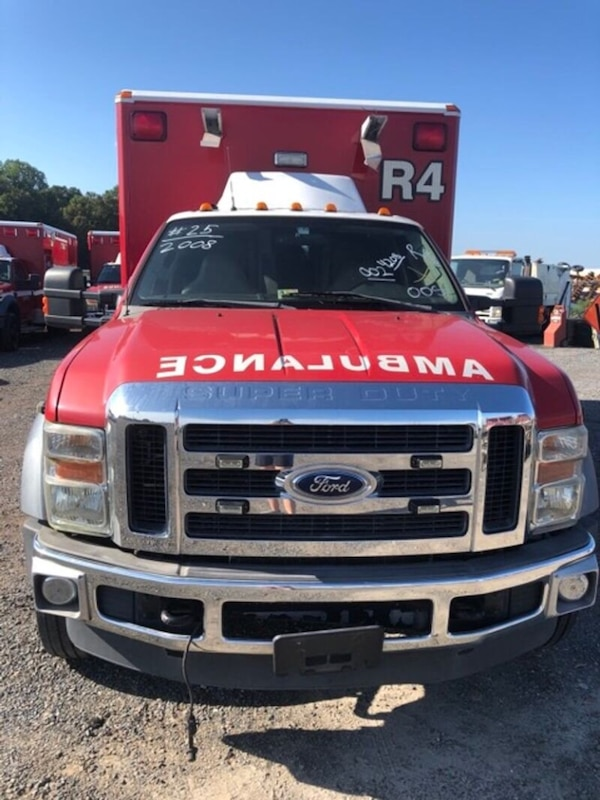 2008 Ford F450 Wheeled Coach Ambulance For Sale 0