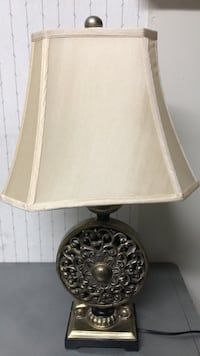 round brown wooden table lamp Hayward, 94541
