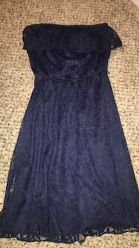 Navy Blue Strapless Dress Lee's Summit, 64064