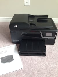 black HP multi-function printer 482 km