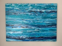Acrylic abstract art painting Parkville, 21234