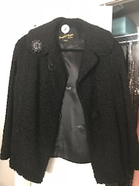 Vintage Black Jacket Oakville, L6M