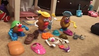 Funny potato family ( parts included ) San Ramon, 94582