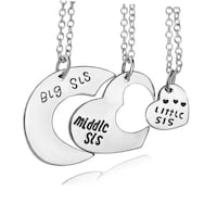 Little, Middle & Big Sister Necklace Set - All for $6! Regina, S4X 3B6