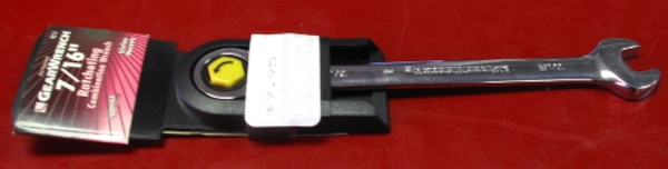 """GearWrench 7/16"""" Ratcheting Combination Wrench"""