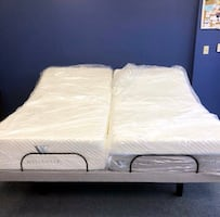 BRAND NEW LUXURY MATTRESS AND ADJUSTABLE BASE SALE-$40 DOWN!!!