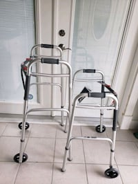 NWT Normal to Tall Adult Folding Wheeled Walker Norfolk, 23503