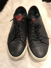 Ted Baker Thwally black leather shoes sz 10 US