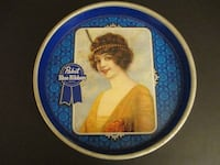 Vintage Pabst Blue Ribbon Beer Tray null