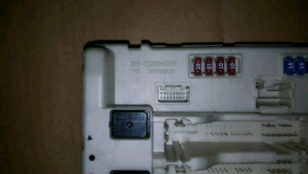 2008 nissan altima coupe fuse box inhood