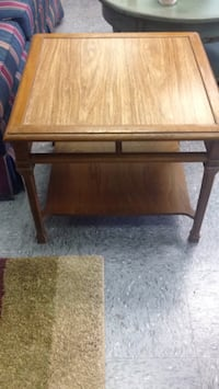 brown wooden side table Greensboro, 27409