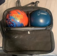 I don't need theses bowling bags anymore I will sell both for 60 or will trade for a new bowling ball. Bowling balls not Included Las Vegas, 89113
