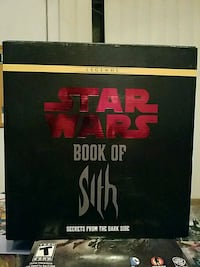 Star Wars Book Of Sith From The Dark Side