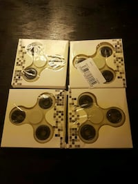 four glow in the dark spinners in boxes Brunswick, 31520